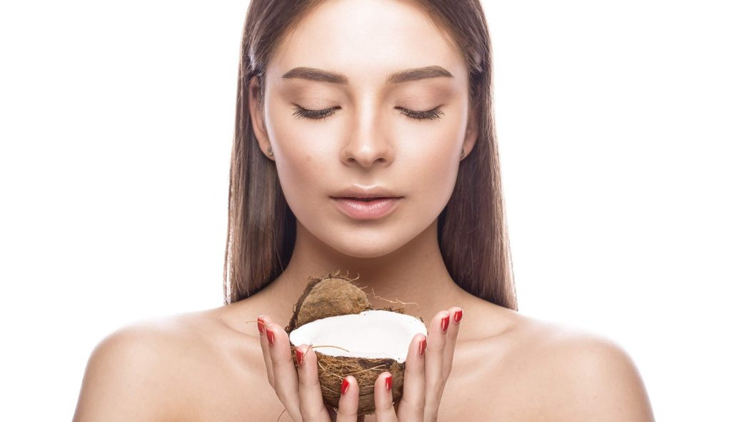 coconut oil for your face