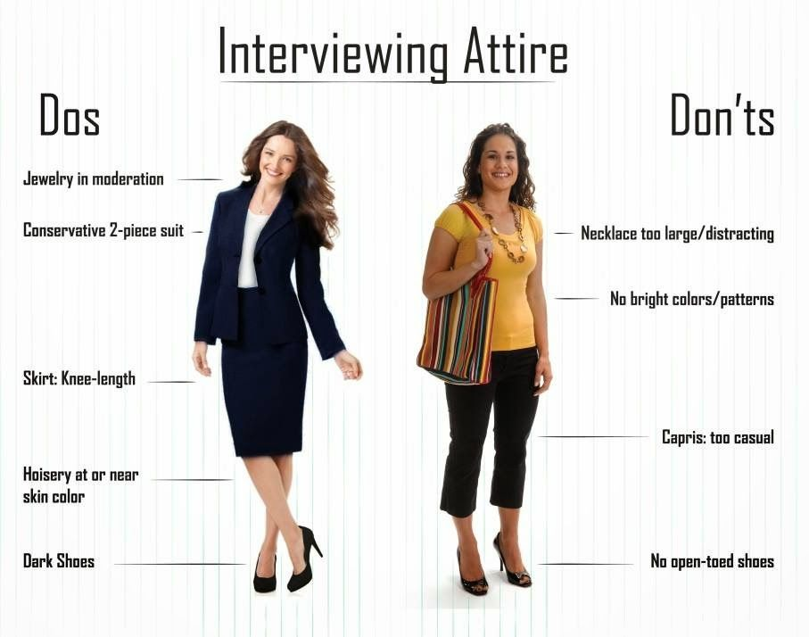 what to wear to an interview-female