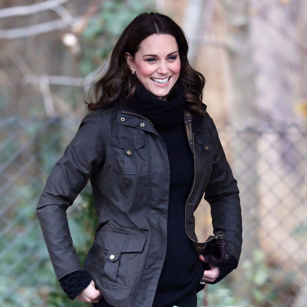 Kate Middleton wearing turtle neck