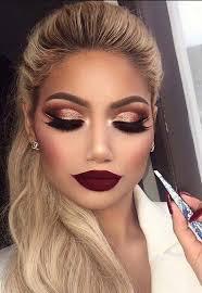 classic gold makeup