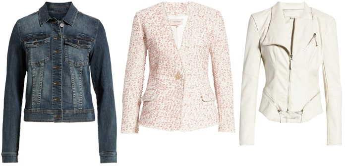 short jackets to look slimmer