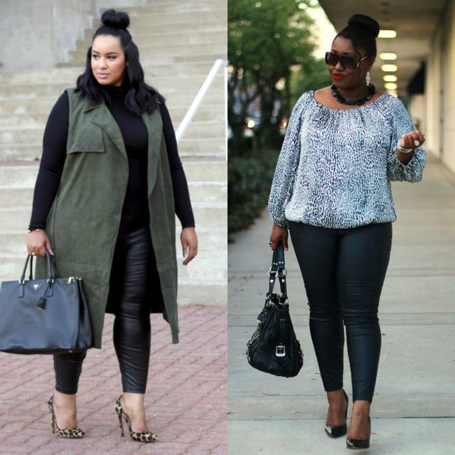 jeans or jeggings to look slimmer and taller