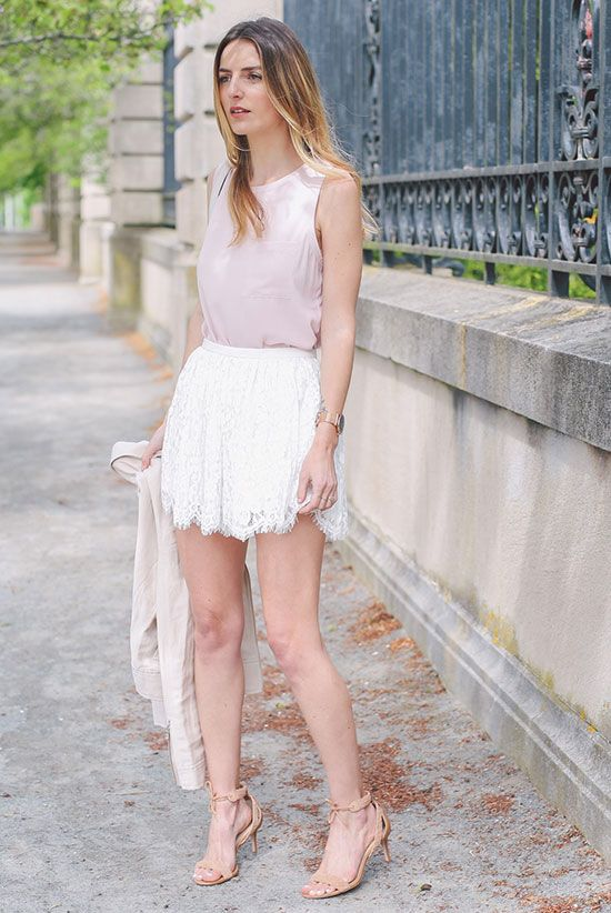 The Top Blogger Looks Of The Week | Be Daze Live | Style lace shorts, Party outfit, Fashionable work outfit