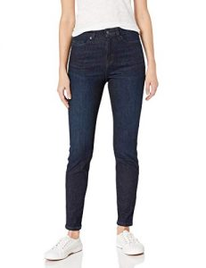 Amazon Essentials Women's High-Rise Skinny Jeans for apple shape
