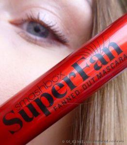 Smashbox SuperFan Mascara for straight Asian Lashes